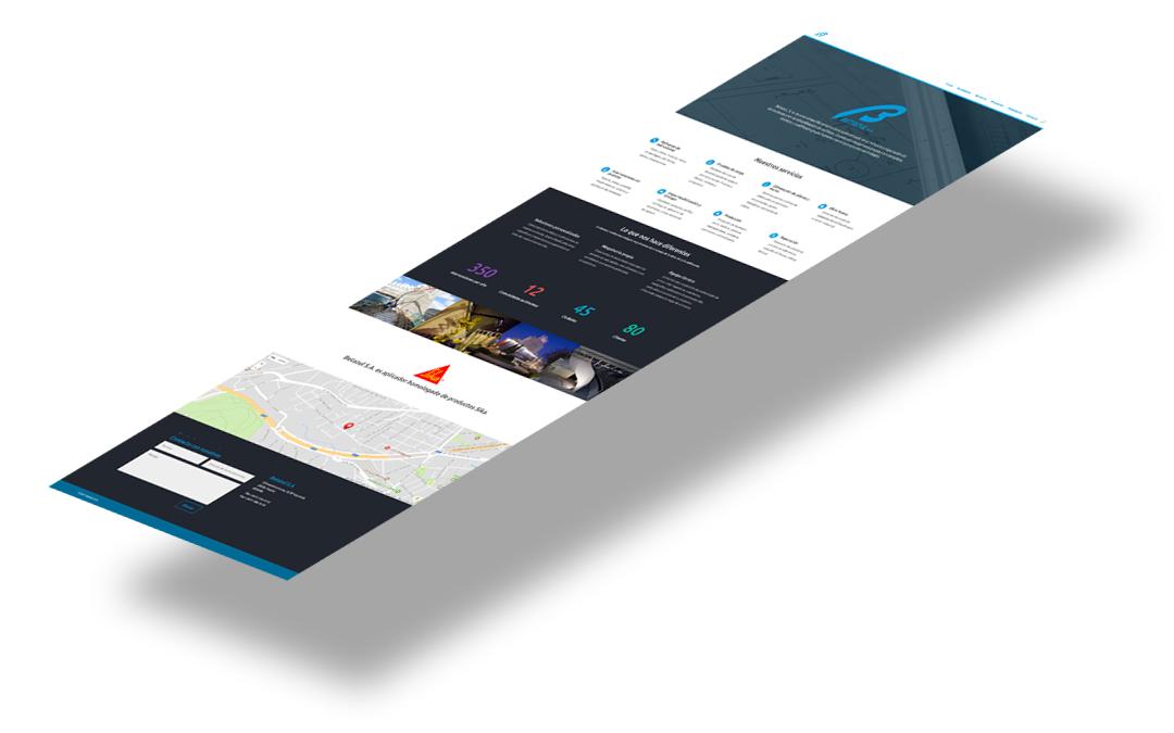 Betazul renueva su página web