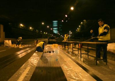 Terminal en superficie intercambiador Plaza de Castilla