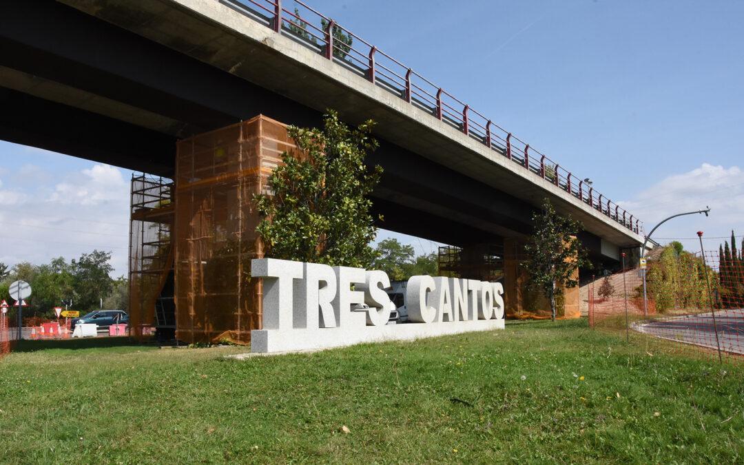 Gateo de puente en Tres Cantos